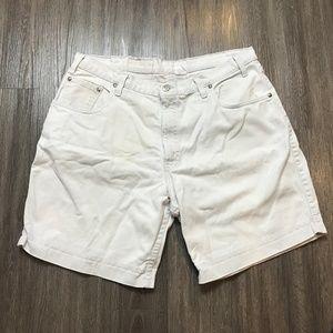Vintage LEVIS 545 Loose Fit Gold Tab Shorts